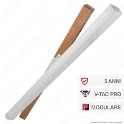 V-Tac PRO VT-4551D Linear Master Trunking Track Light Lineare 50W 120° Dimmerabile - SKU 1361