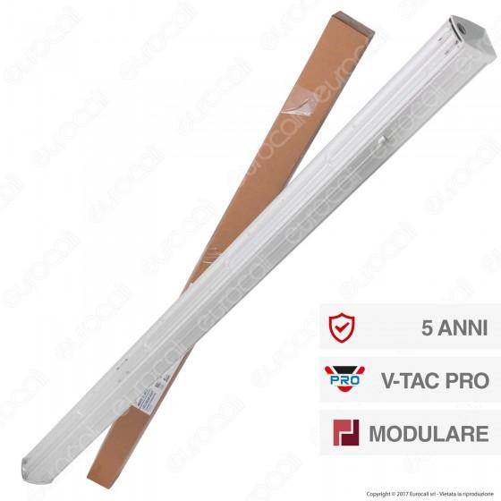 V-Tac PRO VT-4551D Linear Master Trunking Track Light Lineare 50W Fascio Asimmetrico Dimmerabile - SKU 1362
