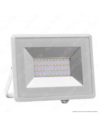 V-Tac VT-4031 E-Series Faro LED SMD 30W Ultra Sottile da Esterno Colore Nero - SKU 5955 / 5956 / 5957