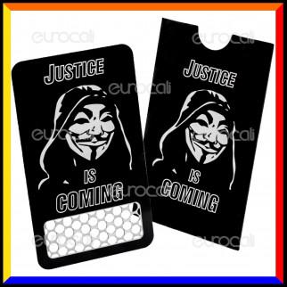Grinder Card Formato Tessera Tritatabacco in Metallo - Anonymous