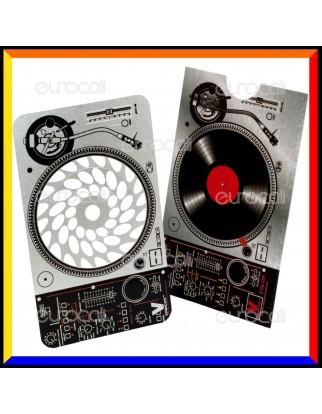 Grinder Card Formato Tessera Tritatabacco in Metallo - DJ Groove