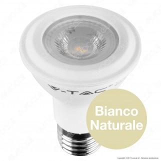 V-Tac PRO VT-220 Lampadina LED E27 7W Bulb Par Lamp PAR20 Chip Samsung - SKU 147 / 148
