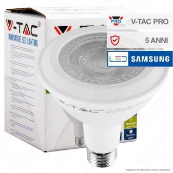 V-Tac PRO VT-230 Lampadina LED E27 11W Bulb Par Lamp PAR30 Chip Samsung - SKU 153 / 154