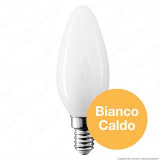 V-Tac VT-1924 Lampadina LED E14 4W Candela Cross Filament White - SKU 71011 / 71031