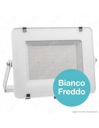 V-Tac PRO VT-200 Faro LED SMD 200W Ultrasottile Chip Samsung da Esterno Colore Bianco - SKU 420 / 421