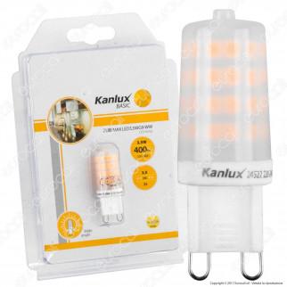 Kanlux ZUBI Lampadina LED G9 3,5W Bulb