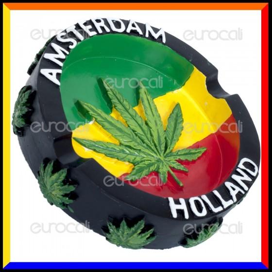 Amsterdam Holland Posacenere da Tavolo in Poliresina [TERMINATO]
