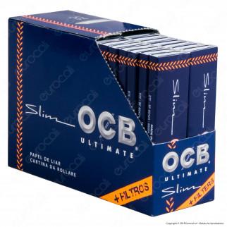 OCB Ultimate Pack Cartine King Size Slim Lunghe e Filtri in Carta - Scatola da 32 Libretti