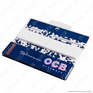OCB Ultimate Pack Cartine King Size Slim Lunghe e Filtri in Carta - Libretto Singolo