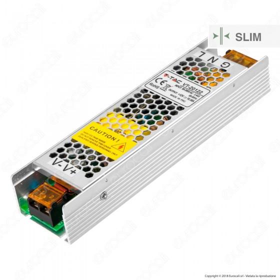 V-Tac VT-12022 Alimentatore 120W Per Uso Interno a 1 Uscita con Morsetti a Vite - SKU 3243