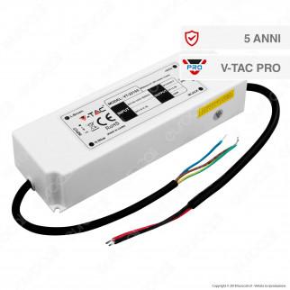 V-Tac PRO VT-22155 Alimentatore 150W Impermeabile IP67 a 1 Uscita con Cavi a Saldare - SKU 3250