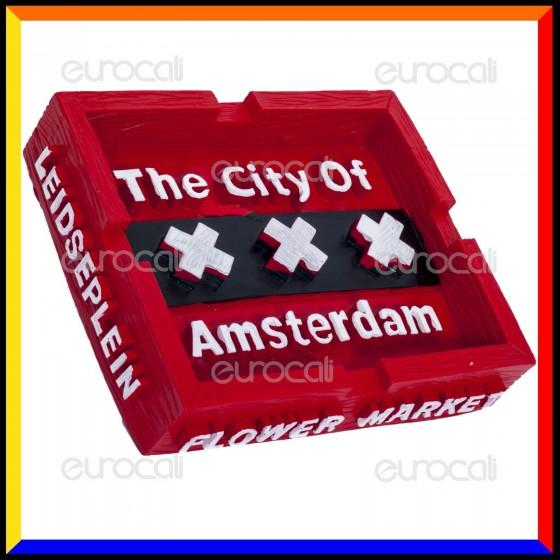 Amsterdam Posacenere da Tavolo in Poliresina - City of Amsterdam