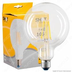 Bot Lighting Lampadina LED E27 8W Globo G125 Filamento - mod. WLD4010X2 / WLD4010X3