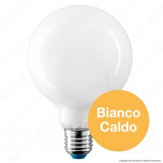 Bot Lighting Lampadina LED E27 7,5W Globo G95 Milky Filamento
