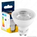Bot Lighting Shot Lampadina LED GU10 6,3W Faretto Spotlight 36° 3000K - mod. SLD630732BB