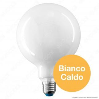 Bot Lighting Lampadina LED E27 7,5W Globo G125 Milky Filamento