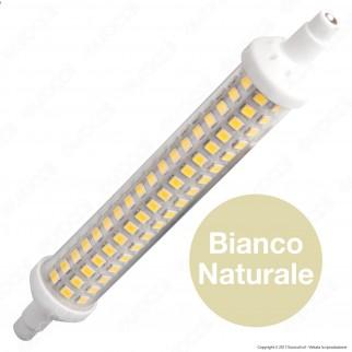Silvanylux LED R7s L135 12W Bulb Tubolare Slim
