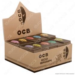 Ocb Eco Brown Filtri In Carta Non Sbiancati - Scatola da 50 Blocchetti