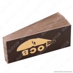 Ocb Eco Brown Filtri In Carta Non Sbiancati - Blocchetto