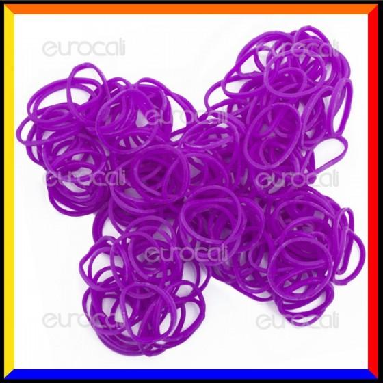 Loom Bands Elastici Colorati Viola - Bustina da 600 pz LB09