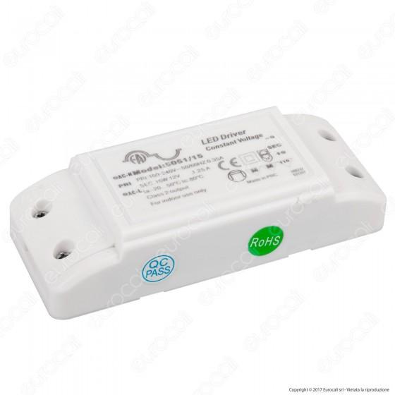 FAI 5051/15 Alimentatore a Tensione Costante 15W per LED 12V