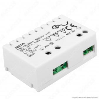 FAI 5057/6 Alimentatore Compatto a Tensione Costante 6W per LED 24V