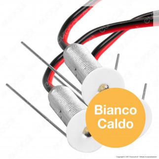 FAI Kit 9 Punti Luce LED Effetto Cielo Stellato da Incasso 0,6W 12V Bianco - 9 Pezzi
