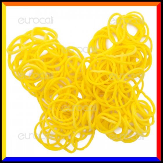 Loom Bands Elastici Colorati Giallo - Bustina da 600 pz LB07
