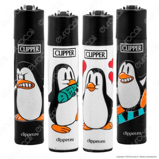 Clipper Large Fantasia Pinguins - 4 Accendini