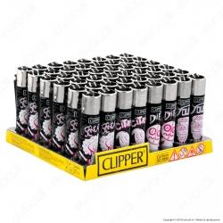 Clipper Large Fantasia Life - Box da 48 Accendini