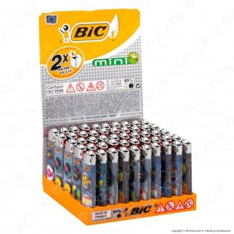 Bic Mini J25 Piccolo Fantasia Music Anni 80 - Box da 50 Accendini