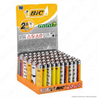 Bic Mini J25 Piccolo Fantasia Emotion - Box da 50 Accendini