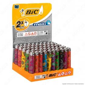 Bic Maxi J26 Grande Fantasia Decorazioni - Box Da 50 Accendini