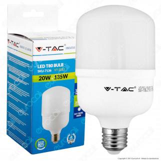 V-Tac VT-2021 Lampadina LED E27 20W Bulb T80 - SKU 7135