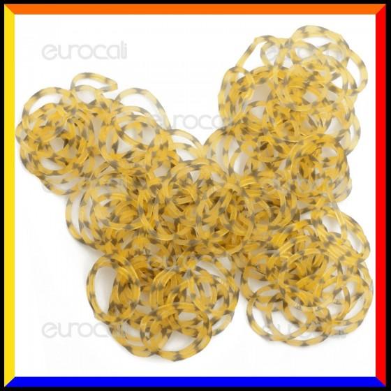 Loom Bands Elastici Colorati Leopardati - Bustina da 600 pz LB19