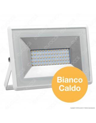 V-Tac VT-4051 E-Series Faro LED SMD 50W Ultra Sottile da Esterno Colore Bianco - SKU 5961 / 5962