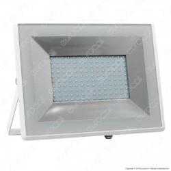 V-Tac VT-40101 E-Series Faro LED SMD 100W Ultra Sottile da Esterno Colore Bianco - SKU 5969