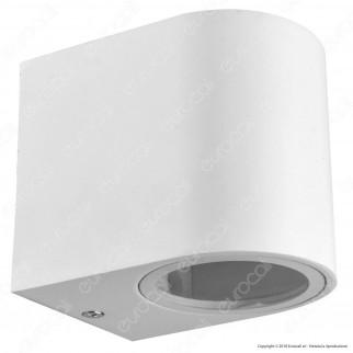 V-Tac VT-7651 Portalampada Doppio Wall Light da Muro per 1 Lampadine GU10 - SKU 7540
