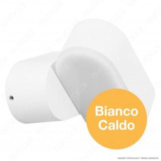 V-Tac VT-816 Lampada da Muro Wall Light LED 6W Testa Ruotabile Colore Bianco - SKU 8286 / 8287