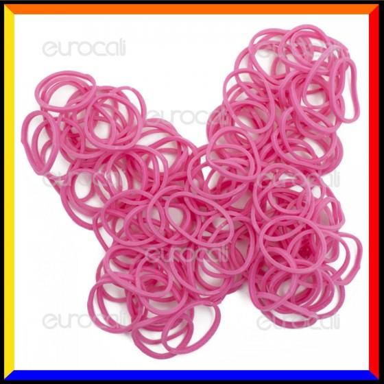 Loom Bands Elastici Colorati Rosa Profumati Lavanda - Bustina da 600 pz LB25