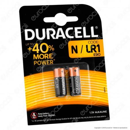 Duracell MN9100 N / LR1 - Blister 2 Batterie