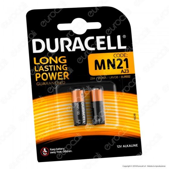 Duracell MN21 (A23) 12V - Blister 2 Batterie