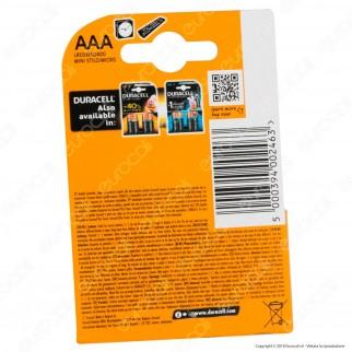 Duracell Simply Alcaline Ministilo AAA - Blister 8 Batterie