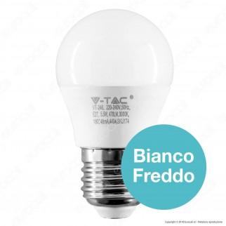V-Tac PRO VT-246 Lampadina LED E27 5,5W MiniGlobo G45 Chip Samsung - SKU 174 / 175 / 176