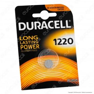 Duracell Lithium CR1220 / CR / DL1220 / BR1220 Pila 3V - Blister 1 Batteria