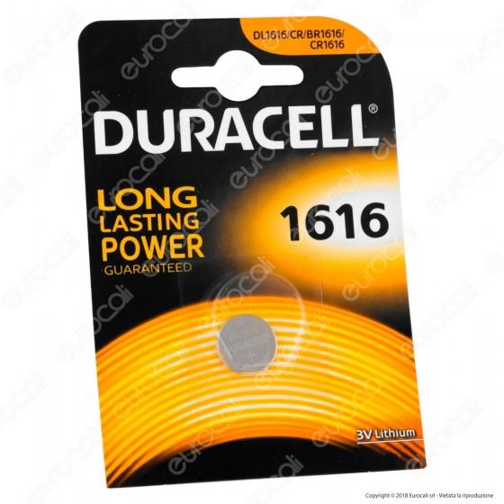 Duracell Lithium CR1616 / CR / DL1616 / BR1616 Pila 3V - Blister 1 Batteria
