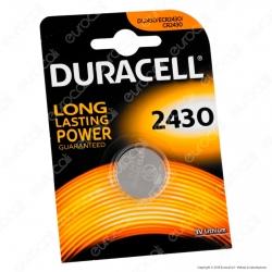 Duracell Lithium CR2430 / DL2430 / ECR2430 Pila 3V - Blister 1 Batteria