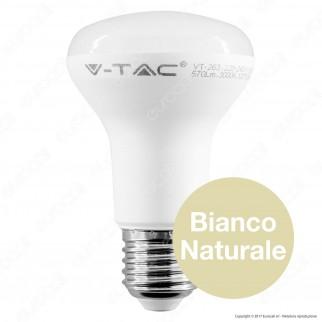 V-Tac PRO VT-263 Lampadina LED E27 8W Bulb Reflector Spot R63 Chip Samsung - SKU 141/ 142