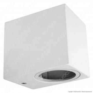 V-Tac VT-7651 Portalampada Wall Light da Muro per 1 Lampadina GU10 IP44 - SKU 7539