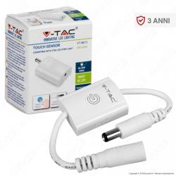V-Tac VT-8071 Pulsante Touch con Dimmer per Strisce LED - SKU 2556